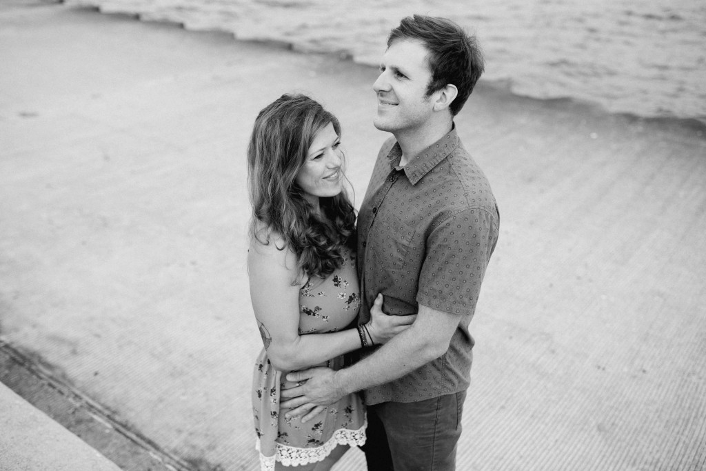Montrose Beach Engagement Photos (1 of 1)-9