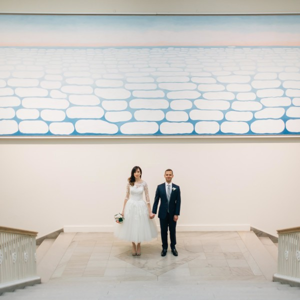 Joel & Michelle: Art Institute of Chicago Wedding Photography