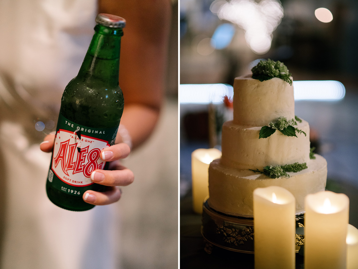 Ale 8 Wedding Drink