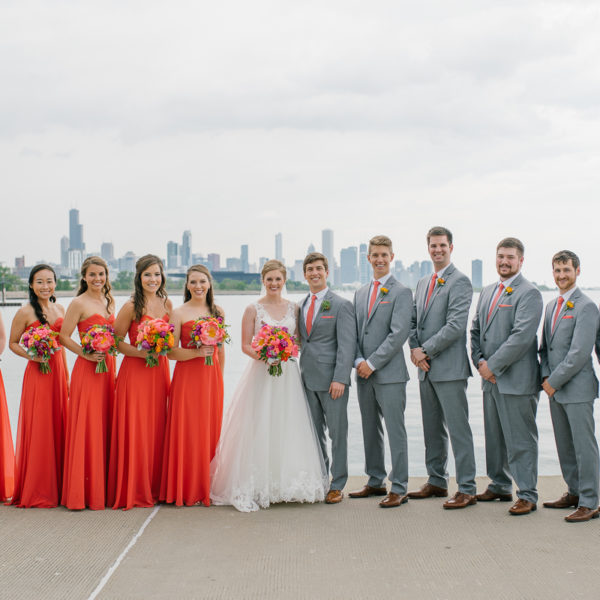 Hudson and Abby's Skyline Loft Wedding: Preview