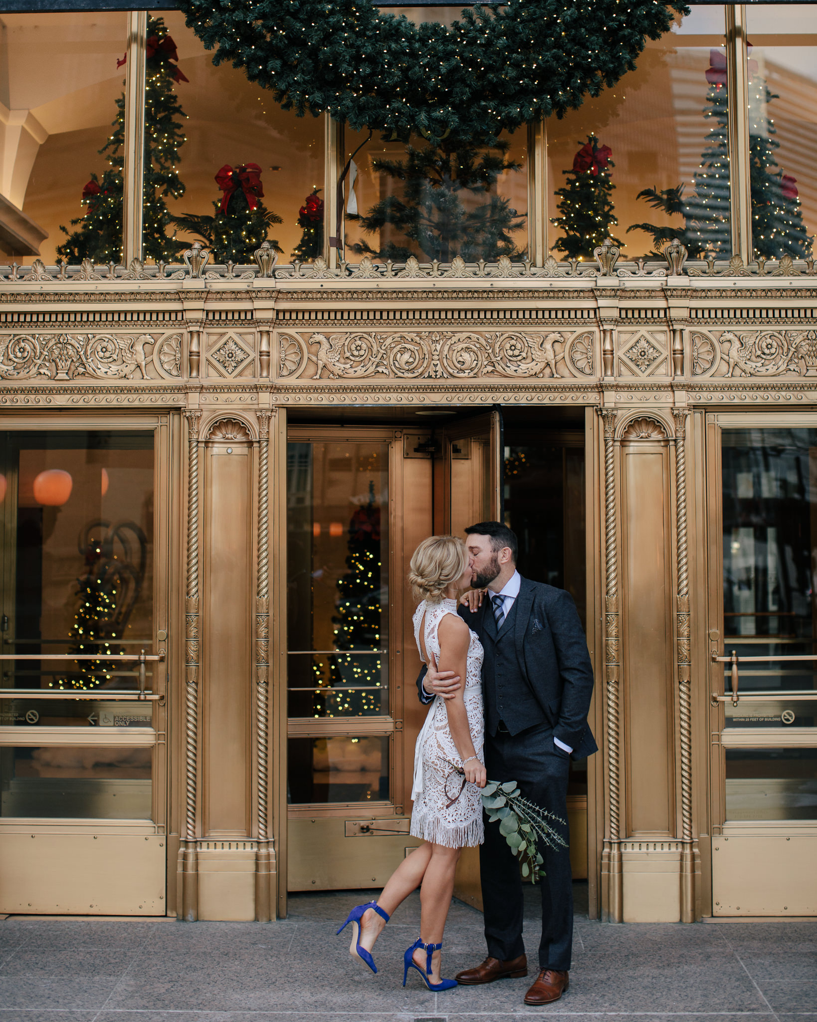 Wrigley Building Wedding Photos