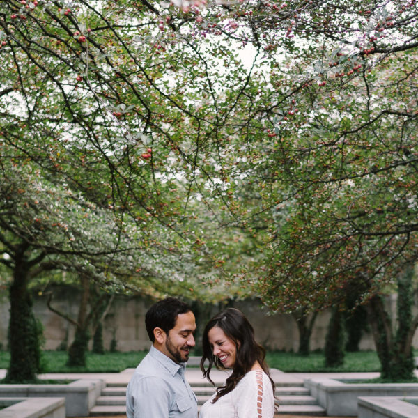 West Loop Engagement Photos: Nora & Andrew