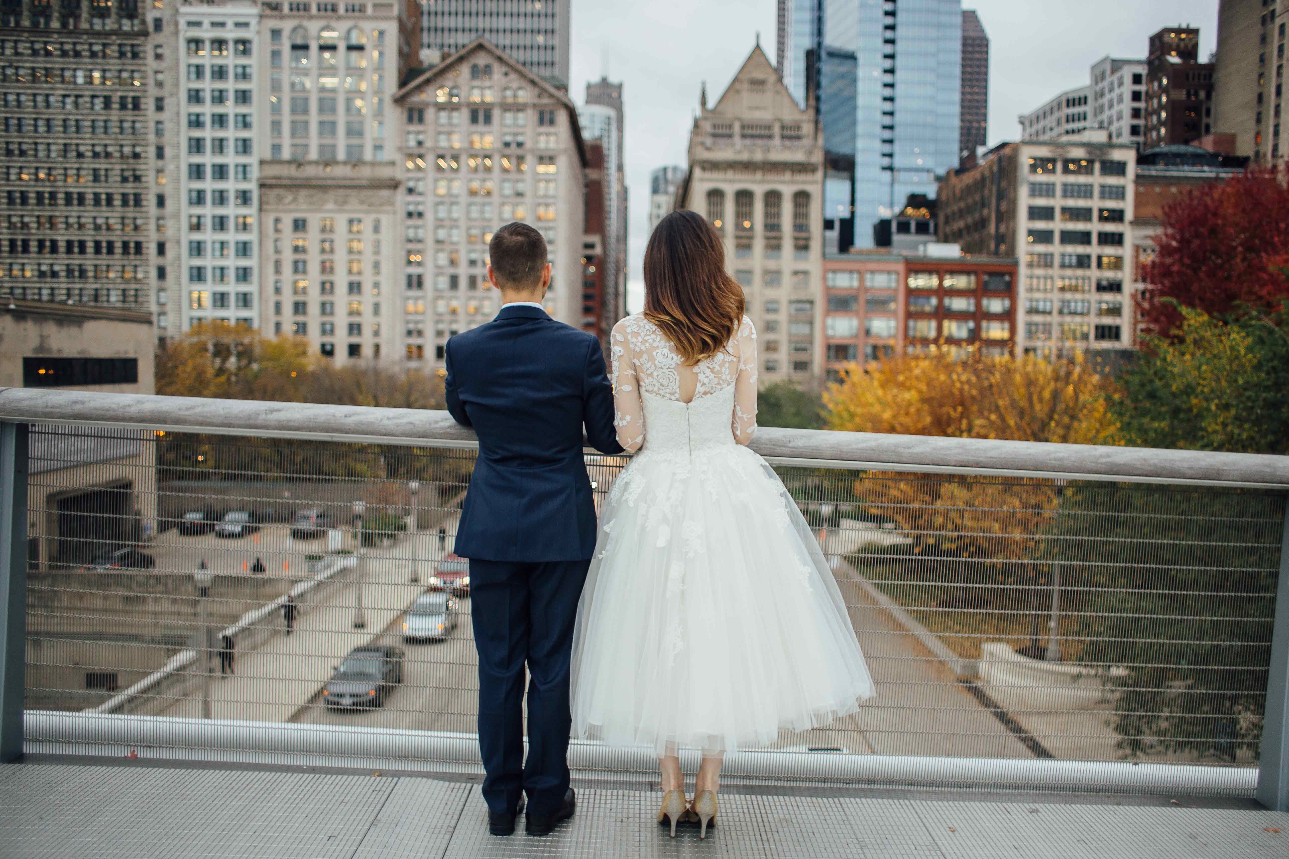 Joel Michelle Art Insute Of Chicago Wedding Photography